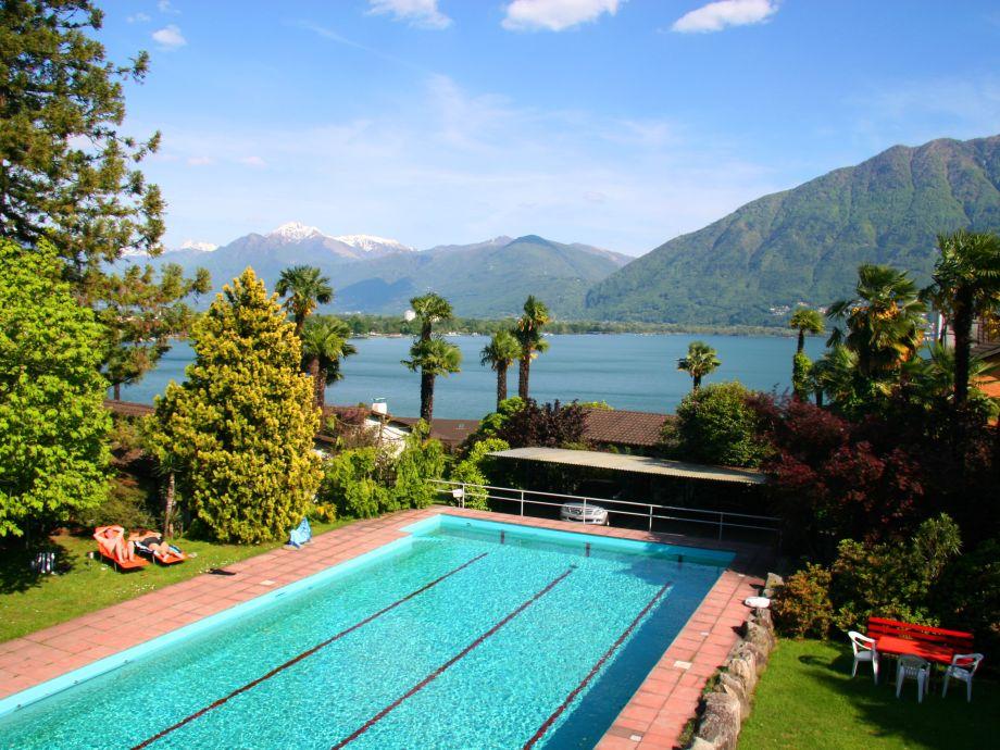 Schwimmbad 17m x 8m in Residenza Paradiso di vacanze