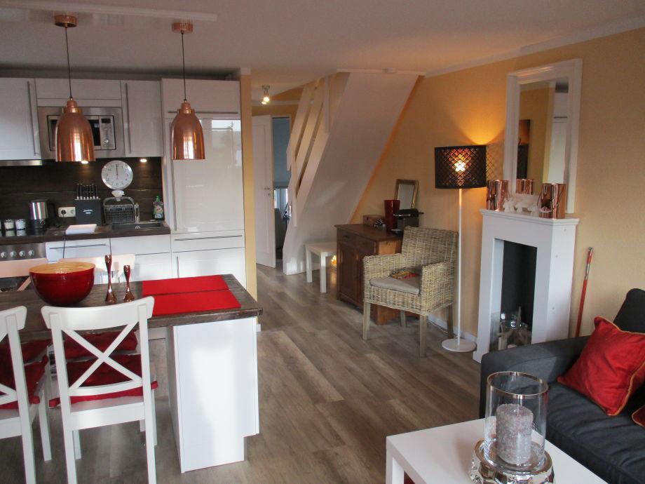 Chalet Platzhirsch Wohnbereich mit Luxus Ebk (1. Ebene)