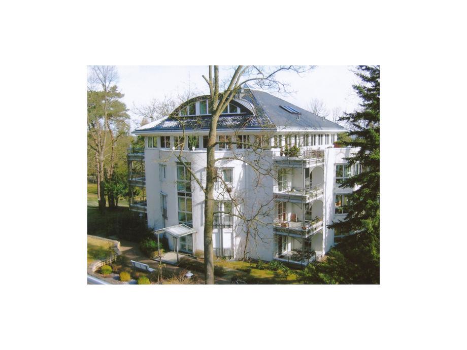 """Außenaufnahme im Seepark """"Heringsdorf"""""""