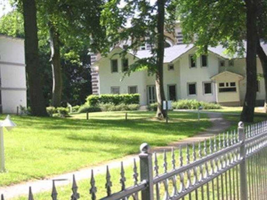 Außenaufnahme in der Residenz am Buchenpark