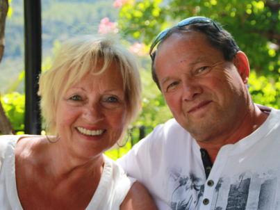 Ihr Gastgeber Günter und Renate Scheidt