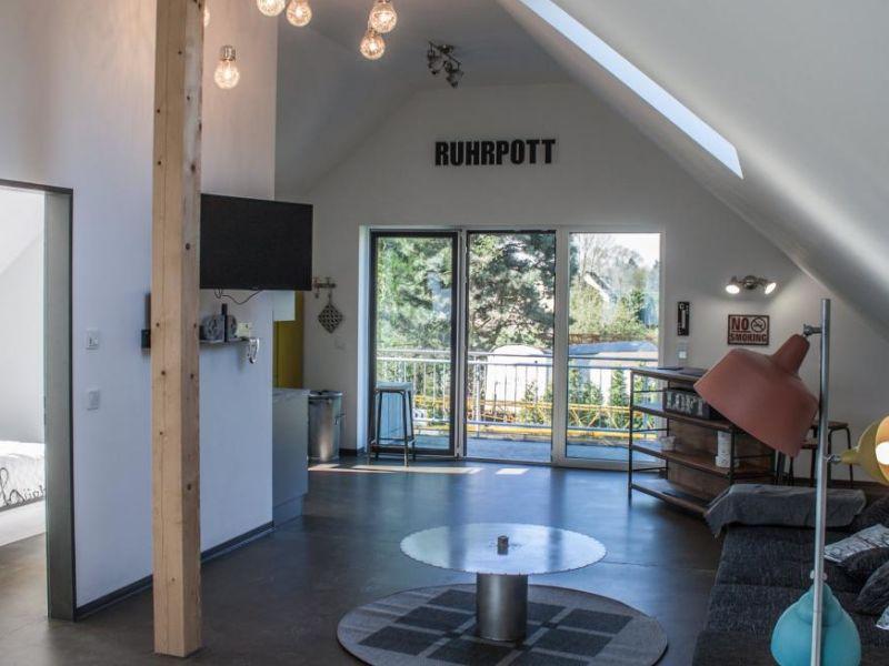 """Holiday apartment Ruhrbettchen """"Das Loft"""""""