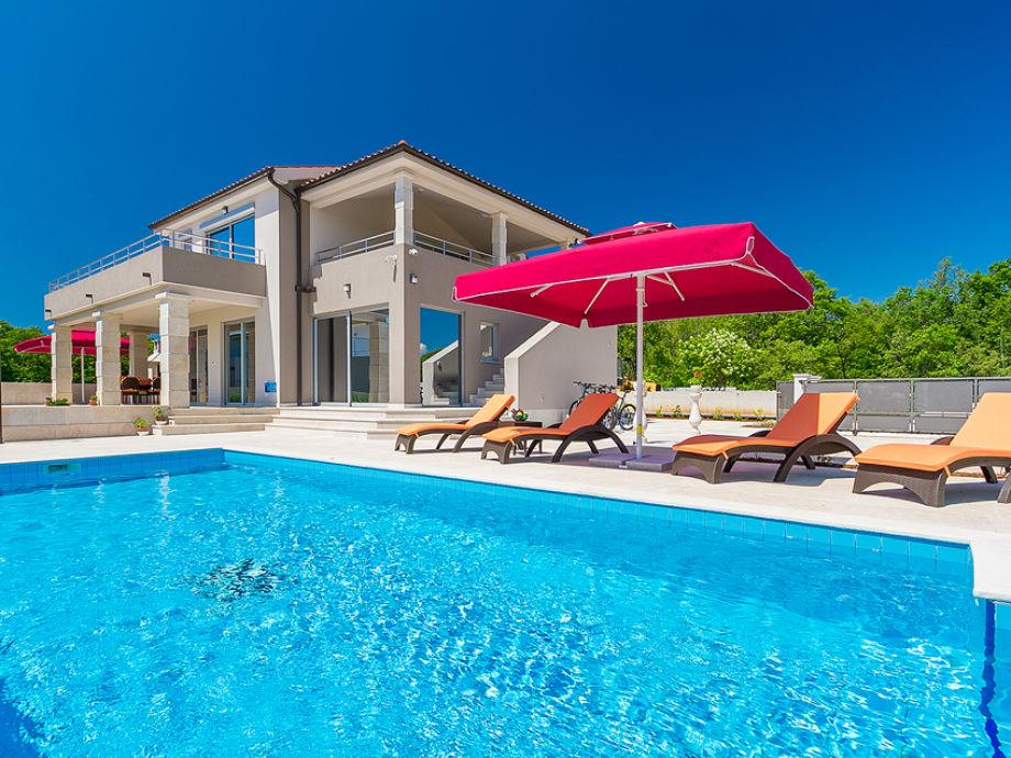 Außenaufnahme Villa Anzela