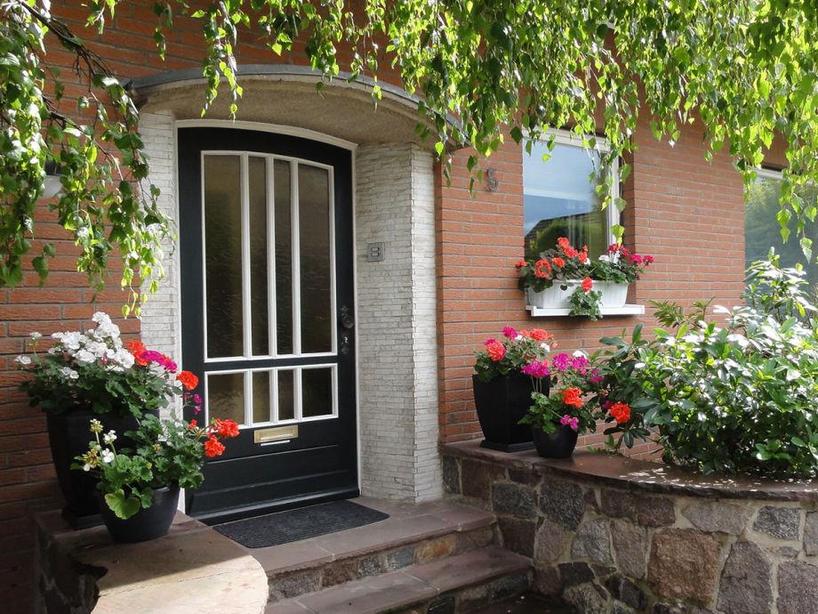 Eingang zur Ferienwohnung Pausendomizil in Ebstorf