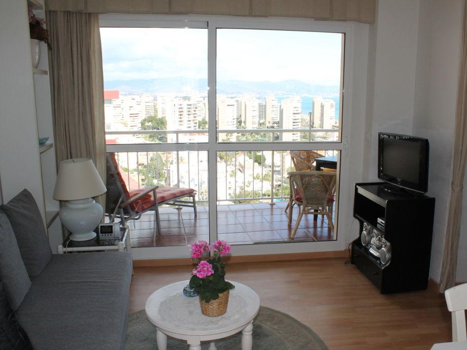 Ferienwohnung las conchas mit panorama meerblick for Zimmer mit blick