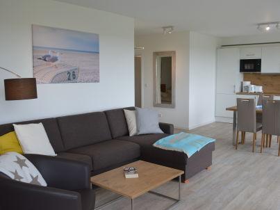 Neubau mit Wattblick & Südbalkon