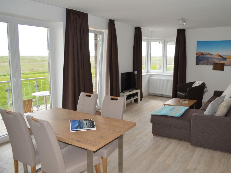 Ferienwohnung Neubau Mit Wattblick Sdbalkon Nordsee