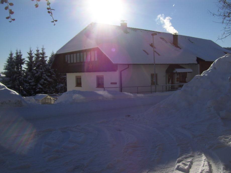 Bauernhof Matt im Winter