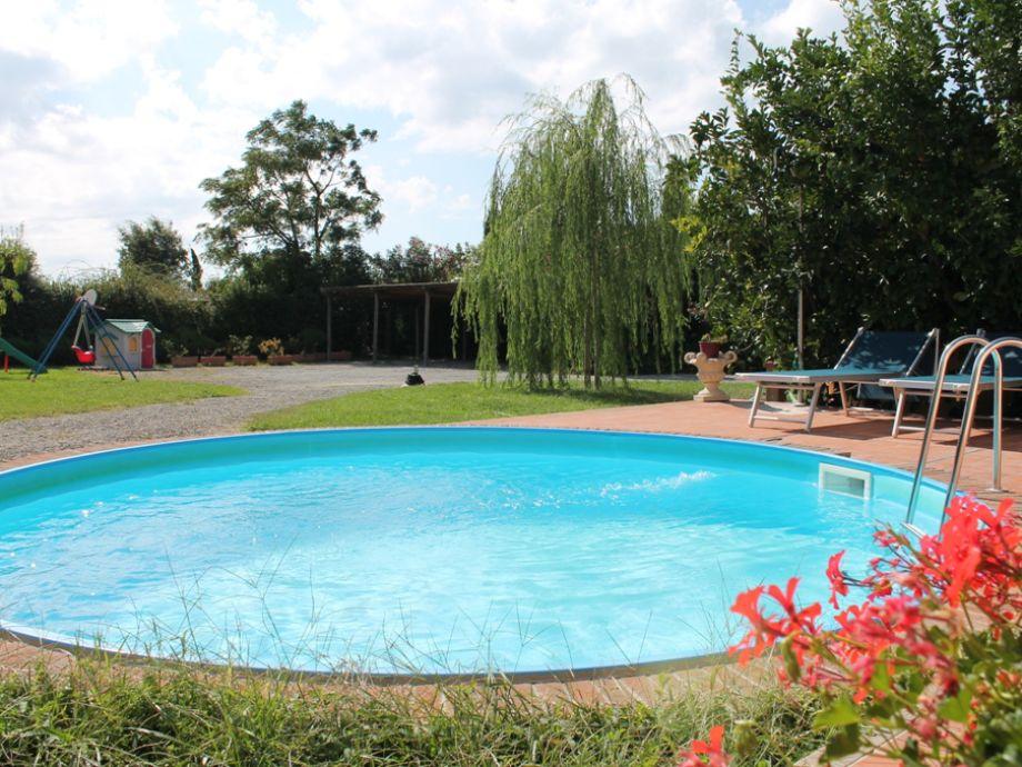 Der tolle Poolbereich
