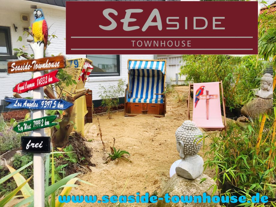 Außenaufnahme Seaside-Townhouse mit Kitchenette B1