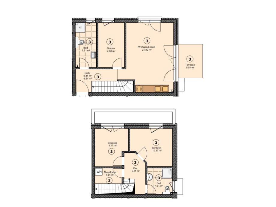 Attractive Grundriss Strandhaus Möwenberg App. 77