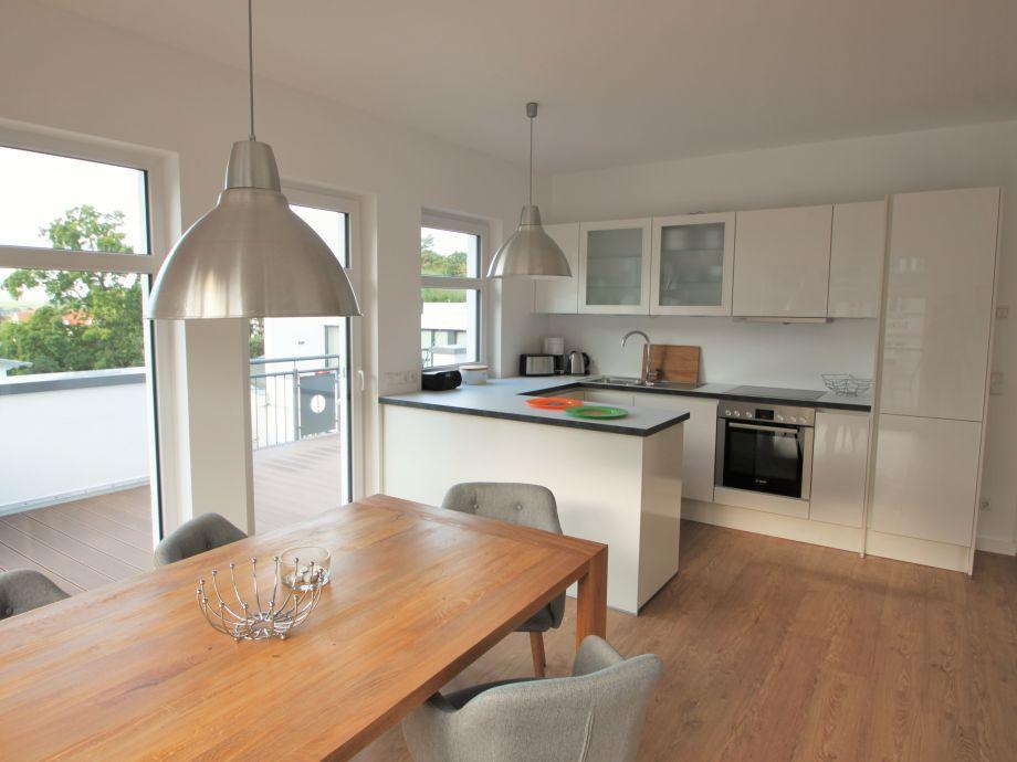 Villa Louisa 55 - Blick in die Küche