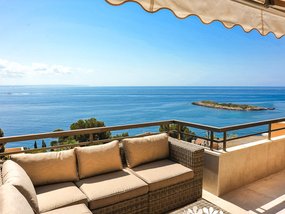 Stunning sea view from the terrace
