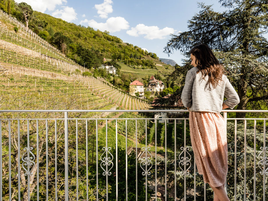 Panoramalage im Weinberg