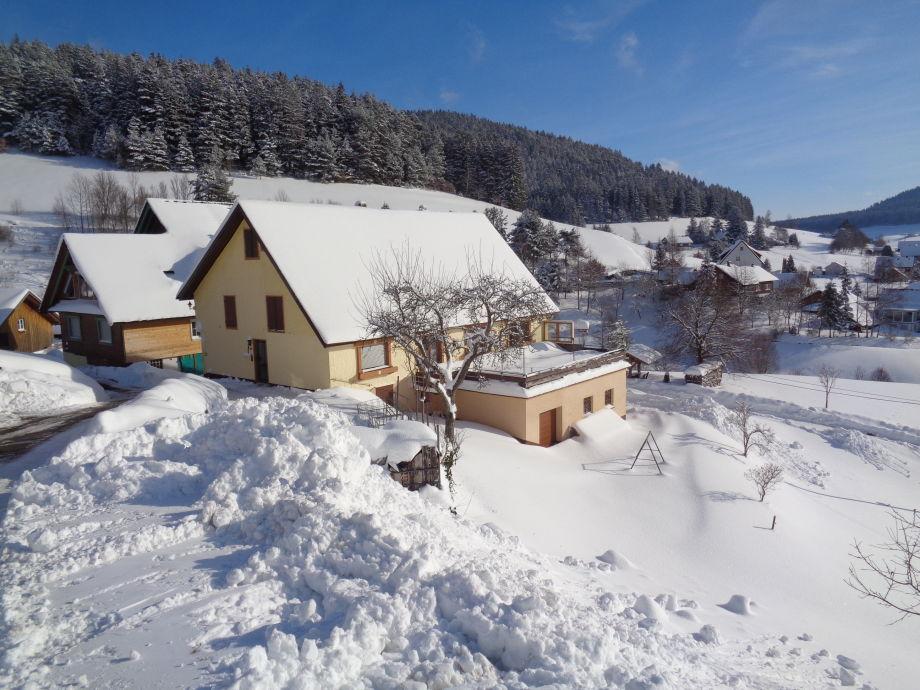 Haus Morlok im Winter