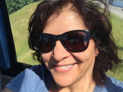 Your host Patricia Sarais