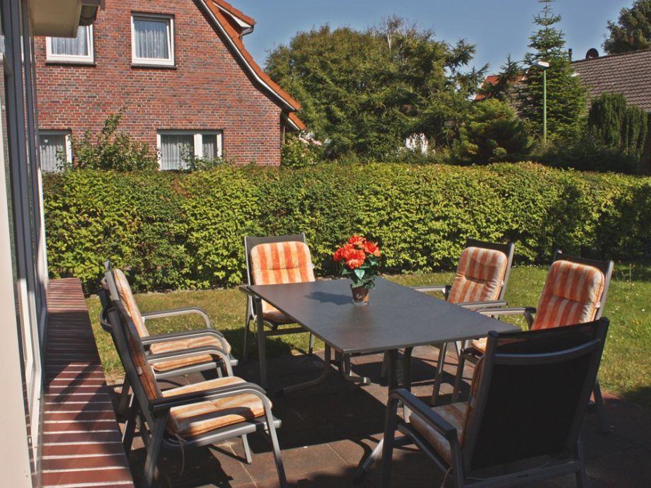 sonnige Terrasse in Südlage