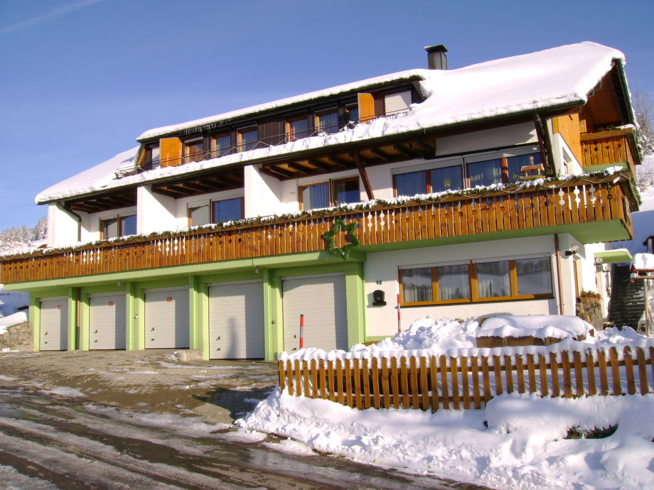 Gästehaus Kehrwieder im Winter