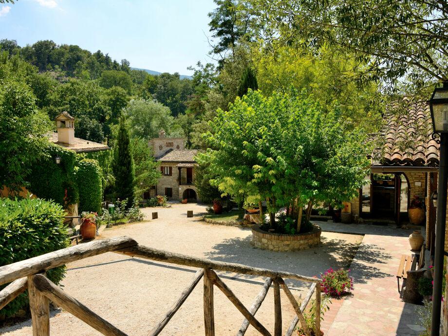 Außenaufnahme Le Querce di Assisi
