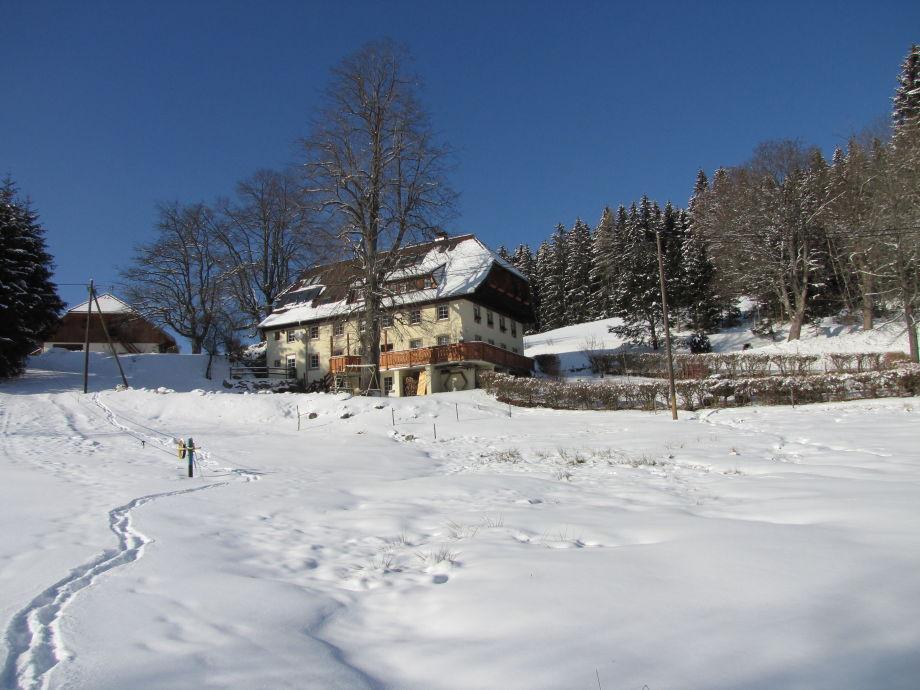 Hirschlehaus im Winter