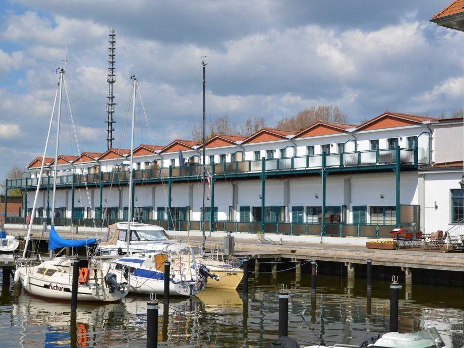 Außenaufnahme Ferienwohnung Koje 22 am Hafen Karlshagen