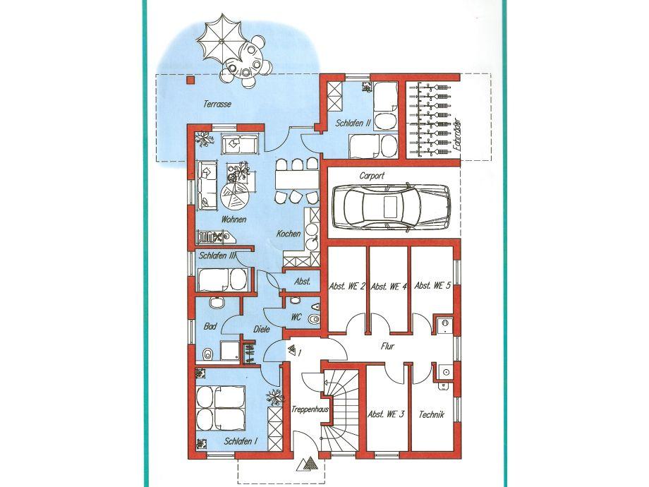ferienwohnung haus weser iii cuxhaven duhnen herr ulrich greschuchna. Black Bedroom Furniture Sets. Home Design Ideas