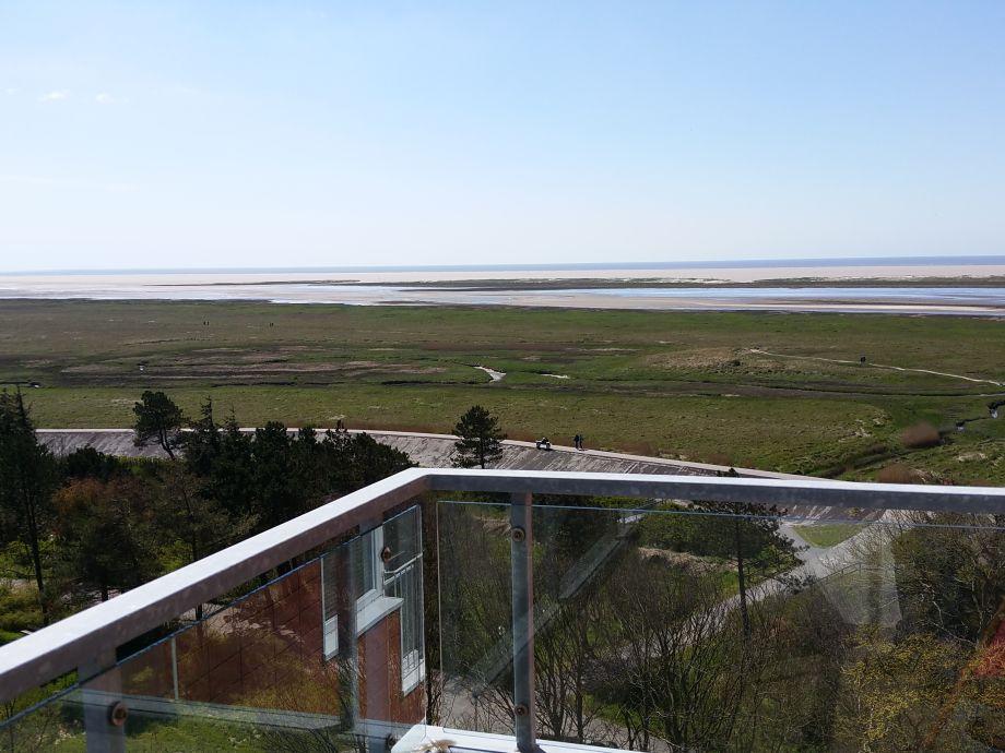 Sicht von der Balkontür aus