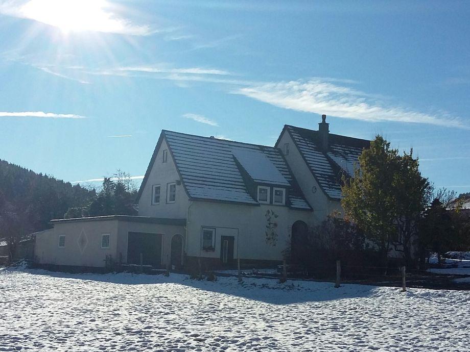 Ferienwohnung Kuchenbecker im Winter