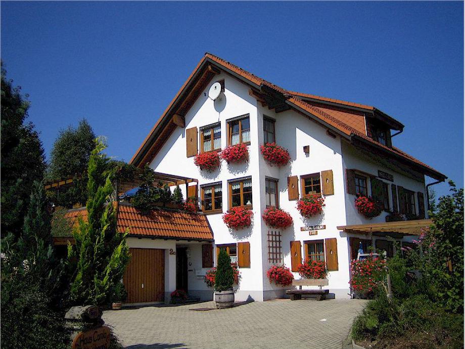 Außenaufnahme Haus Carola