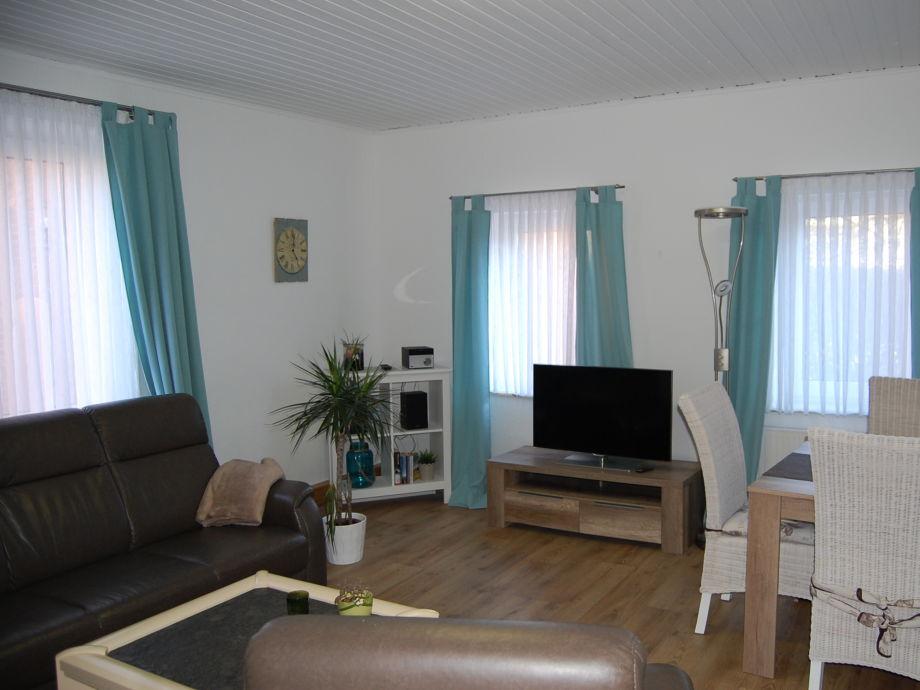 Wohnzimmer mit Rundecke