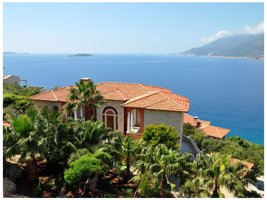 Der Malerischer Blick Hang der Villa Poseidon