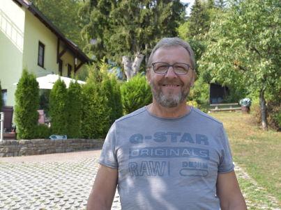 Your host Bernd Weschenfelder