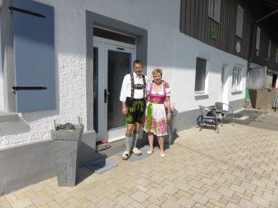 Ihr Gastgeber Richard und Beate Weber