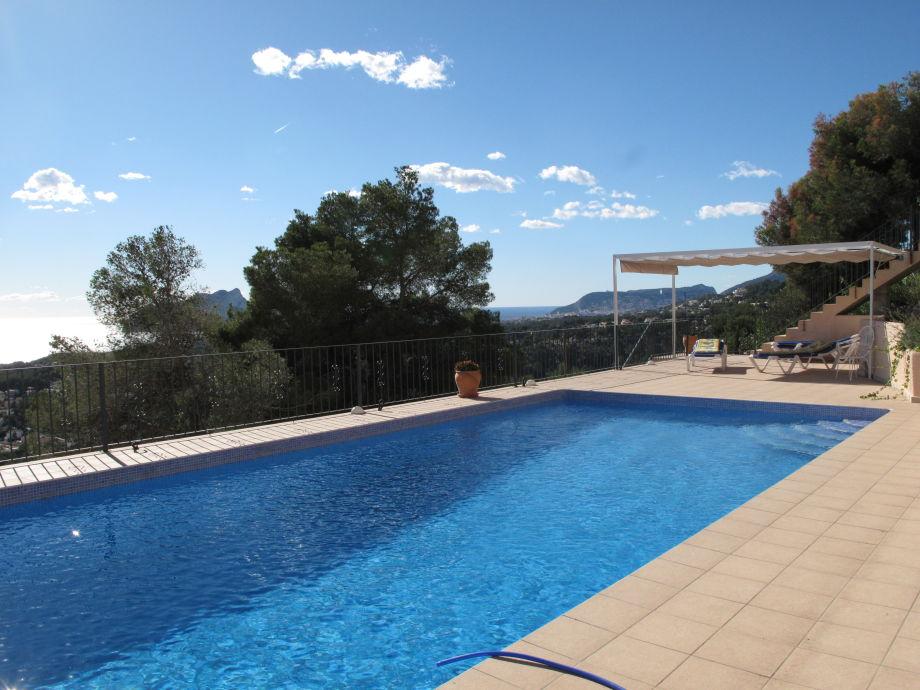 Casa Aquila mit großem Pool