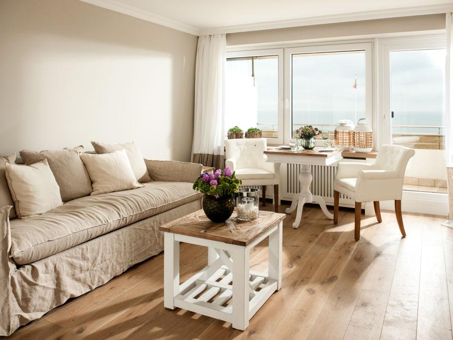 Ausstattung 1 Zimmer-Apartment Seafront
