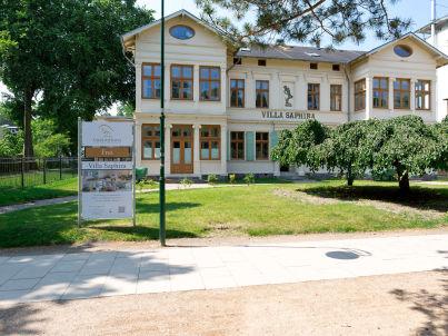 in der Villa Saphira
