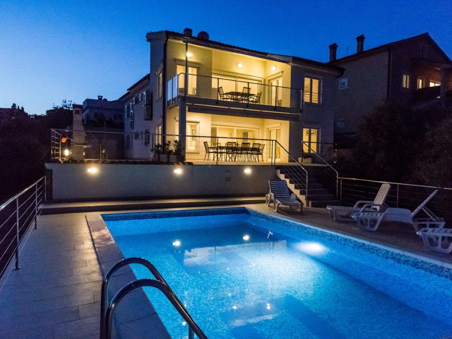 Haus mit der Pool