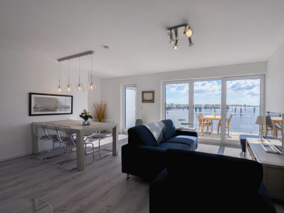 Ferienhaus Nantucket - Wohn-/ Essbereich