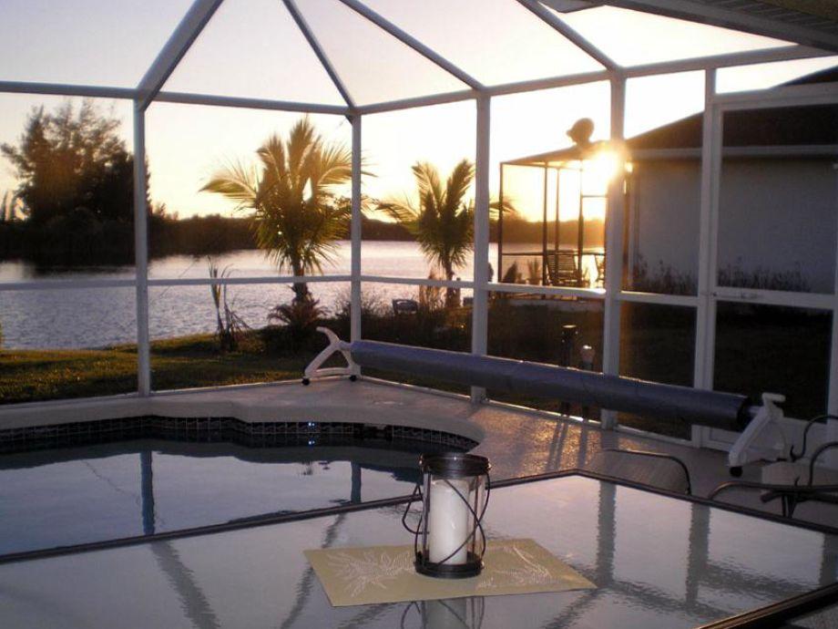 Tolle Sonnenuntergänge erleben Sie in Cape Coral