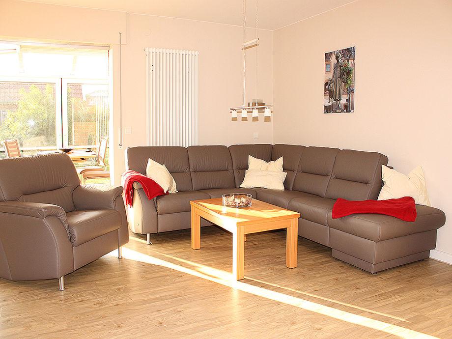 Wohnbereich mit Sofagarnitur
