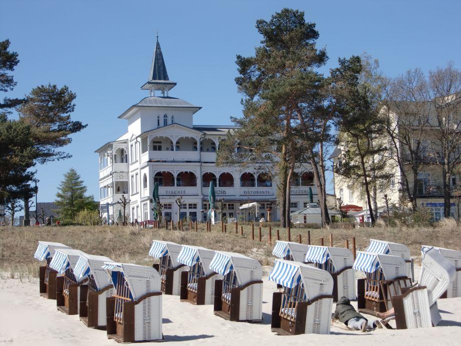 Villa Seeblick Binz in direkter Strandlage