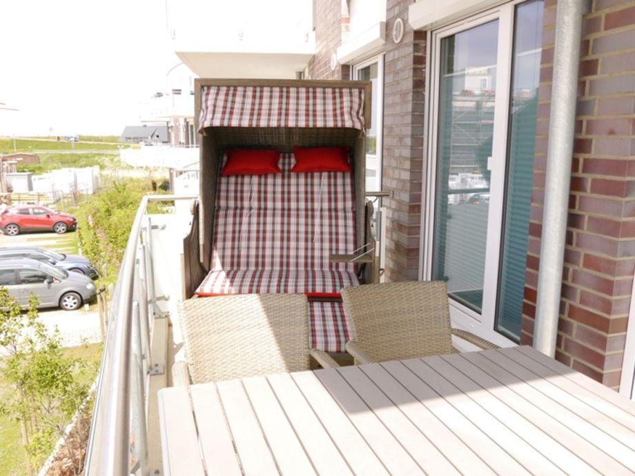 Balkon- Strandkorb nur Mai bis September