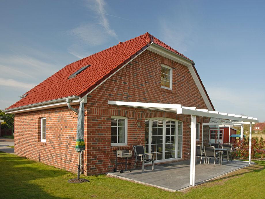 """Ferienhaus """"Zwaantje"""" - Blick auf die Sonnenterrasse"""