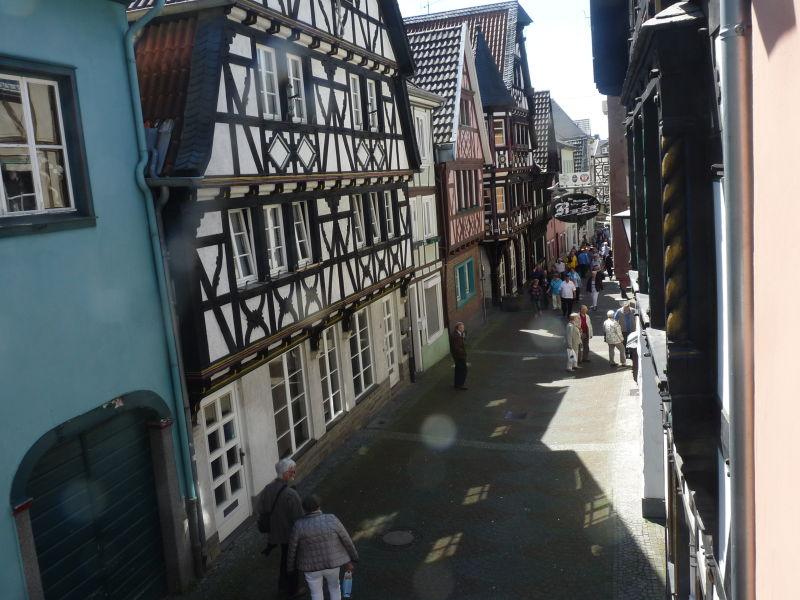 Ferienhaus romantisch wohnen in der bunten Stadt Linz  am Rhein