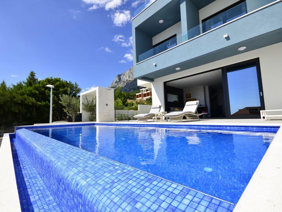Fehrienhus Nina, Makarska,Infinity-Pool