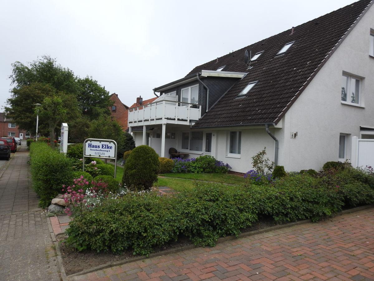 Apartment mit Wohlfühlgarten Typ D 17 Büsumer