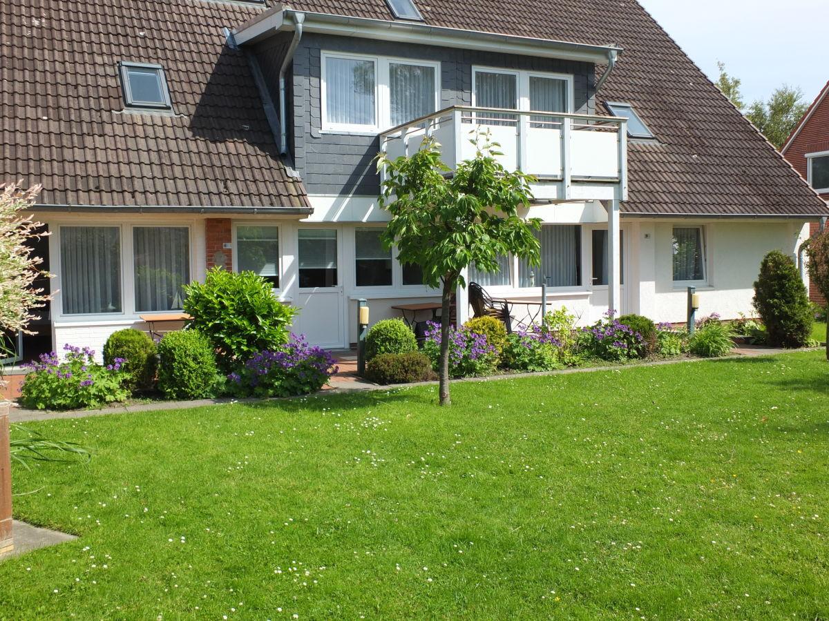 Ferienwohnung Typ C 10 mit Balkon Büsum Firma Haus