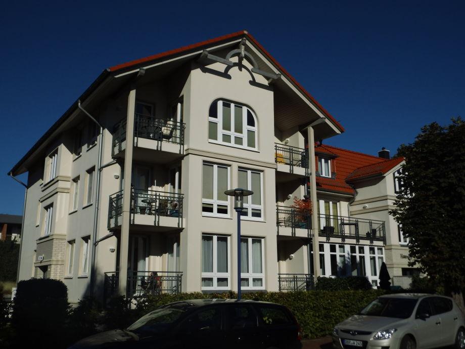 Das Haus Windrose im Ostseebad Graal-Müritz