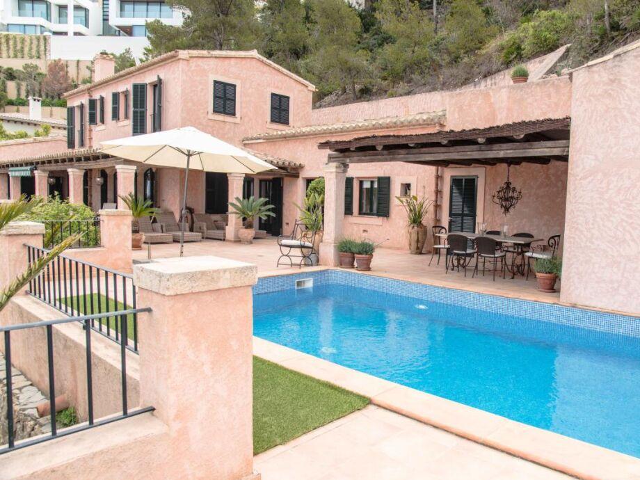 Finca Villa Rosa mit Pool