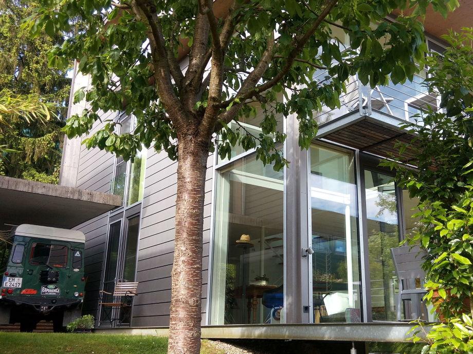 Kubus-13K Architektenhaus Traum aus Stahl, Holz u Glas